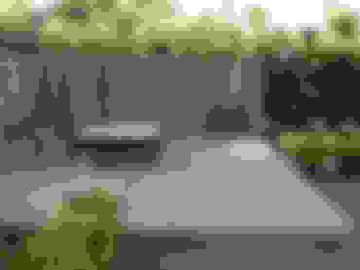 rincones de encuentro en un jardin: Jardines de estilo  por BAIRES GREEN