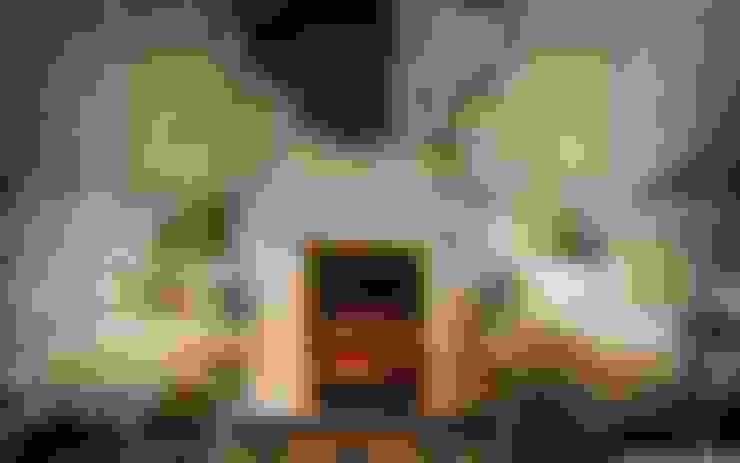 Living room by OMR ARQUITECTURA & DISEÑO DE INTERIORES