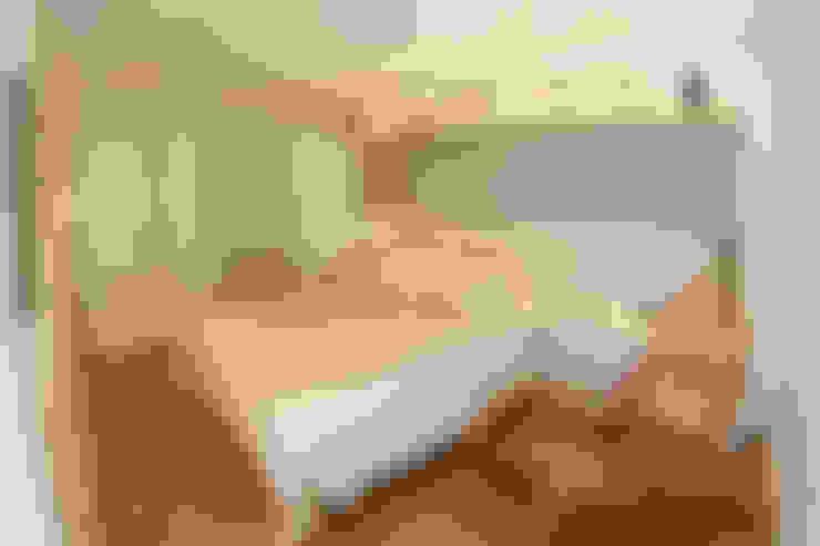 Apartamento LR em São Paulo: Quartos  por MAAC. Arquitetura