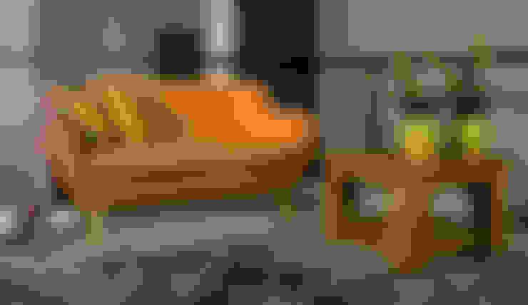 Sixties 2zits sofa - Floris van Gelder:  Woonkamer door Floris van Gelder