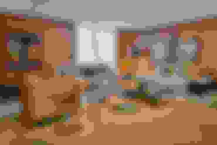ห้องนั่งเล่น by Lider Interiores