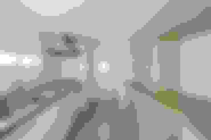 キッチンスペース: 田原泰浩建築設計事務所が手掛けたキッチンです。