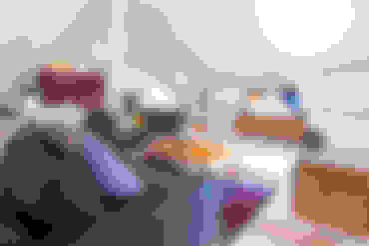 Projekty,  Salon zaprojektowane przez Planungsgruppe Barthelmey