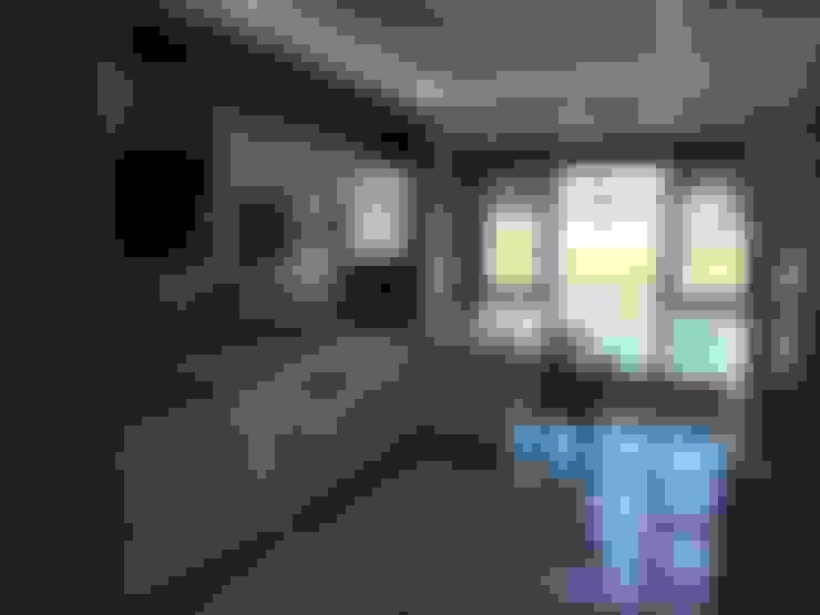 Blue Home  – Mutfak Projesi:  tarz Mutfak