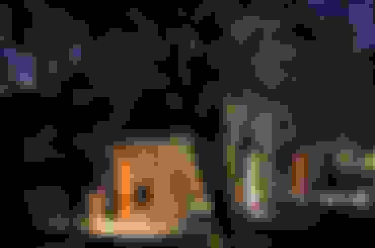QUINCHO EN LOMAS: Casas de estilo  por Arq. Santiago Viale Lescano