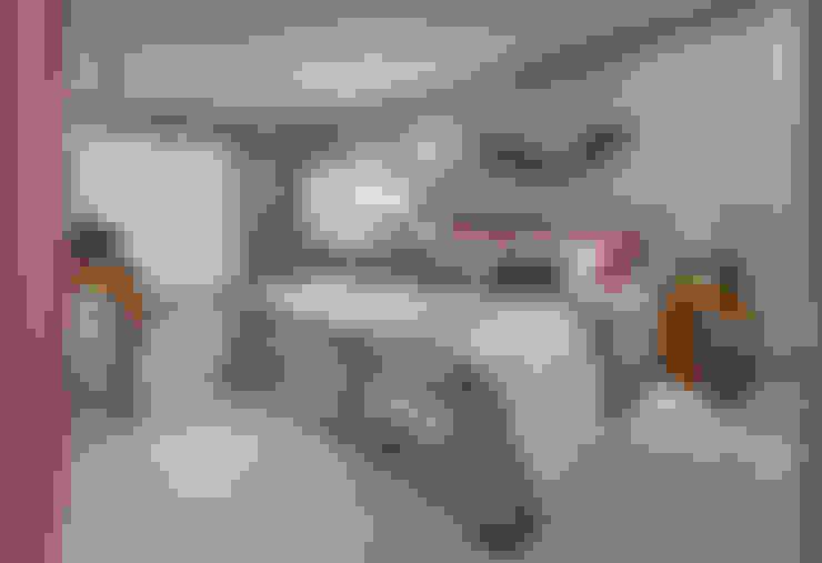 Apartamento ME: Quartos  por Isabela Canaan Arquitetos e Associados
