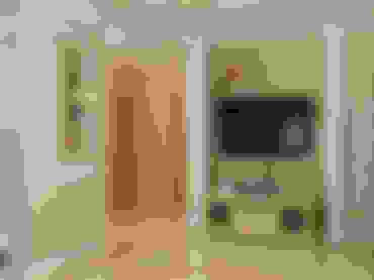 غرفة المعيشة تنفيذ СТУДИЯ ДИЗАЙНА ЭЛИТНЫХ ИНТЕРЬЕРОВ АЛЕКСАНДРА ЕЛАШИНА.