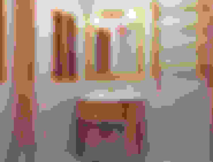 حمام تنفيذ СТУДИЯ ДИЗАЙНА ЭЛИТНЫХ ИНТЕРЬЕРОВ АЛЕКСАНДРА ЕЛАШИНА.