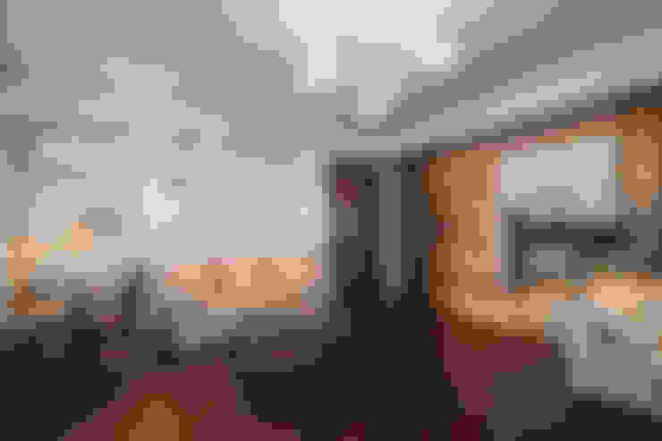 апартаменты в Ялте: Гостиная в . Автор – Дорогой Дом
