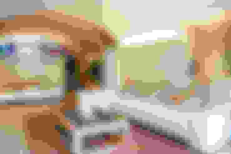 غرفة المعيشة تنفيذ Brick construcció i disseny