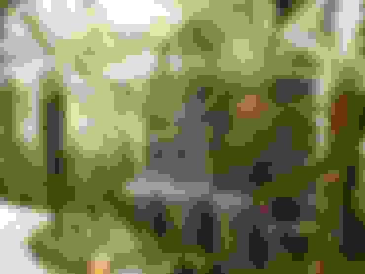 Jardines de estilo  por ANALU ANDRADE - ARQUITETURA E DESIGN