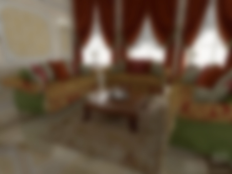 غرفة المعيشة تنفيذ Ad-home