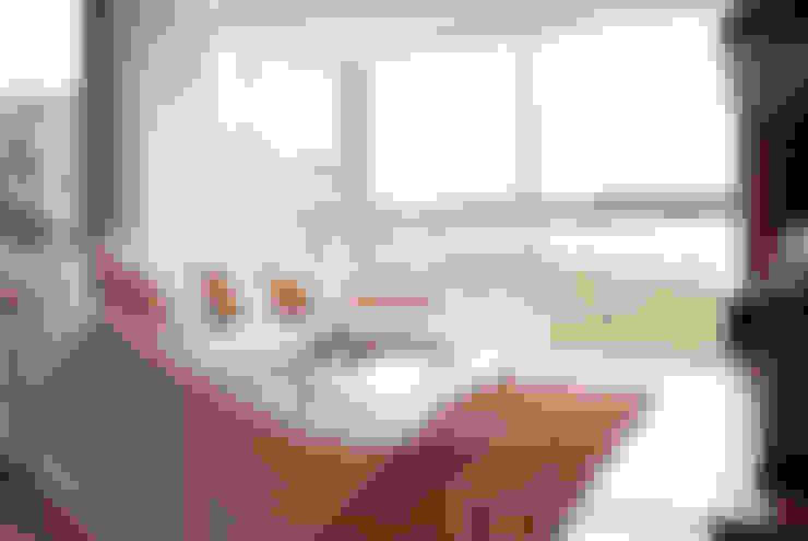 غرفة المعيشة تنفيذ VODO Arquitectos