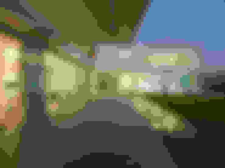 Terraços  por Luc Spits Architecture