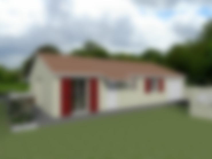Casas de estilo  por Sandia Design