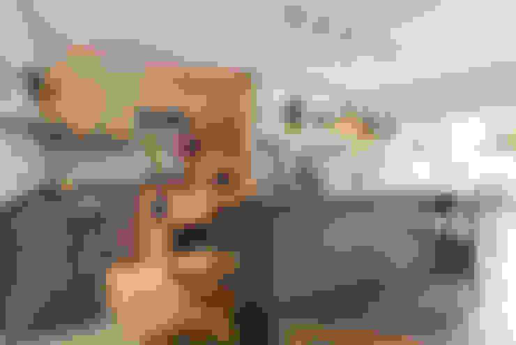 ห้องครัว by Angelica Pecego Arquitetura