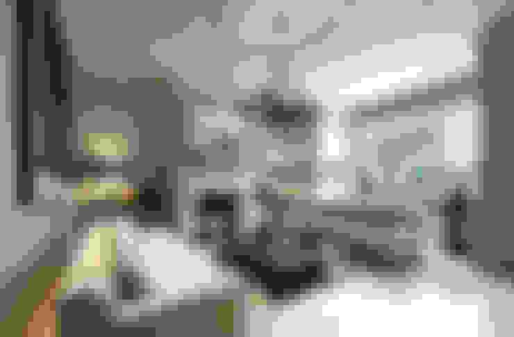 Salas de estilo  por Nash Baker Architects Ltd