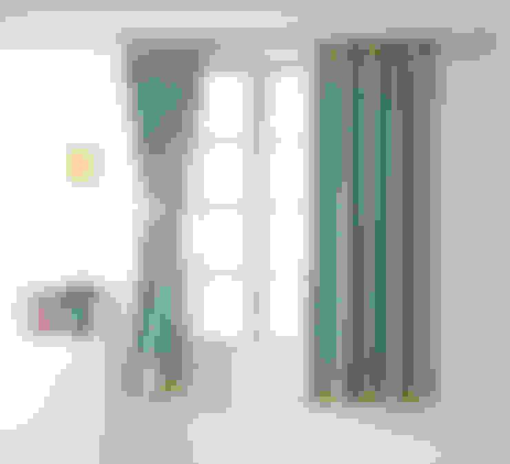 북유럽풍 아이방 암막 커튼: 포그난의  가정 용품