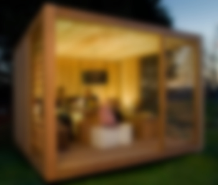 Jardín de estilo  por ecospace españa