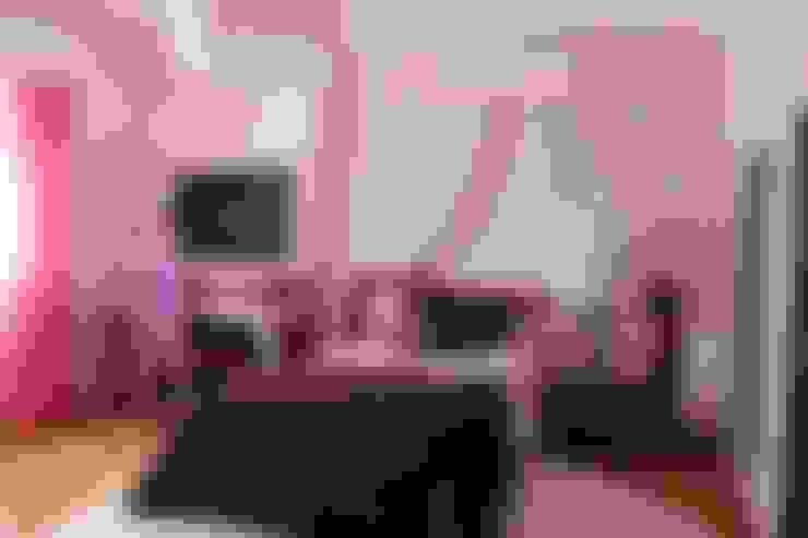 Quarto de menina by andreia Louraço Design e interiores: Quartos de criança  por Andreia Louraço - Designer de Interiores (Contacto: atelier.andreialouraco@gmail.com)