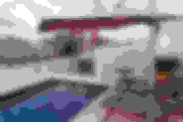 Terrazas de estilo  por CMSP Arquitetura + Design