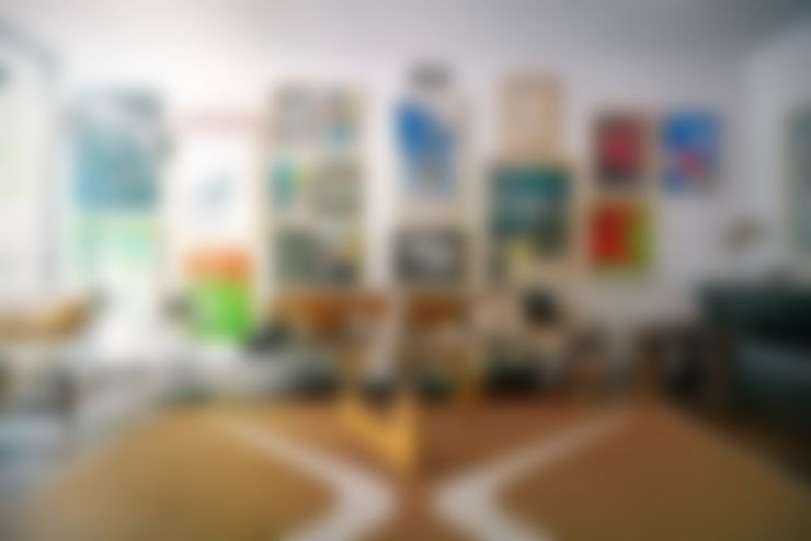 Espacios decorados by CUSTOMS handmade: Paredes de estilo  por CUSTOMS handmade