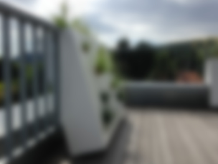 Varanda, alpendre e terraço  por neubert und fuchs_gartenabteilung