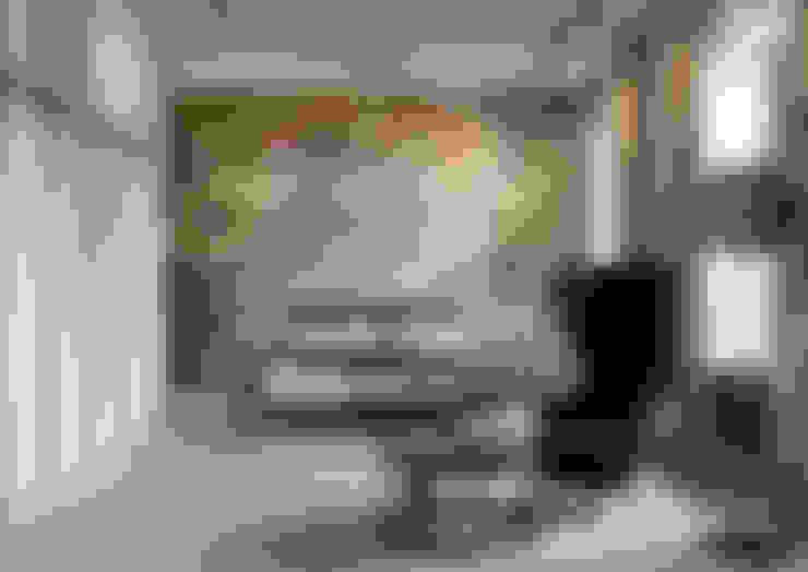 غرفة نوم تنفيذ Anna Clark Interiors