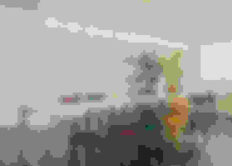 Cobertura Belvedere: Salas de jantar  por Dubal Arquitetura e Design