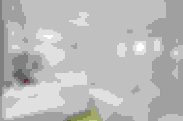 Banheiro Casal : Banheiros  por Patrícia Azoni Arquitetura + Arte & Design