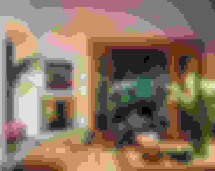 غرفة المعيشة تنفيذ JR Arquitectos