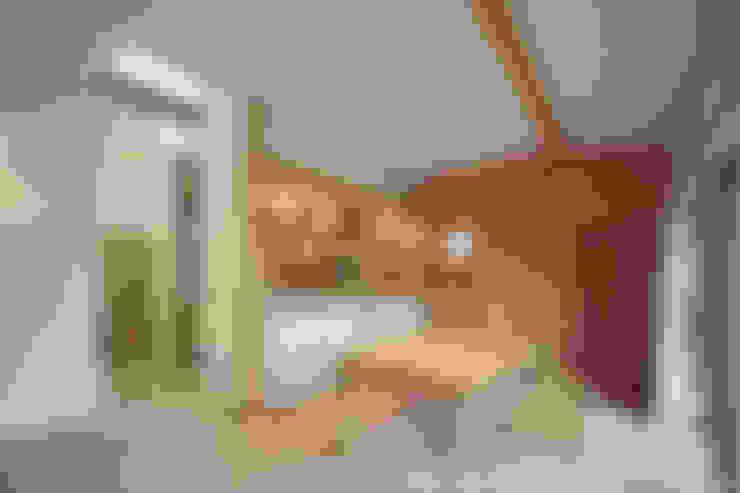 山道勉建築의  다이닝 룸