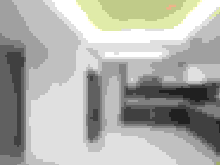 온유재 溫裕齋 _ 광명 일직동 상가주택: AAG architecten의  주방