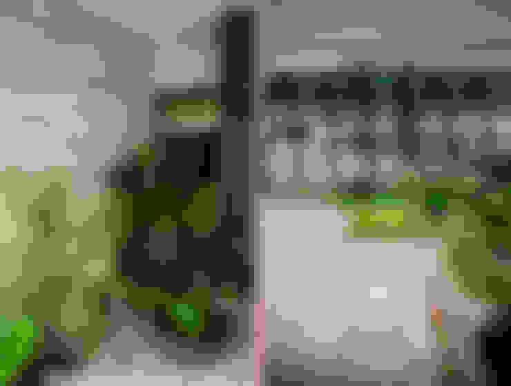 Jardines de estilo  por Andressa Rangel Arquitetura e Interiores