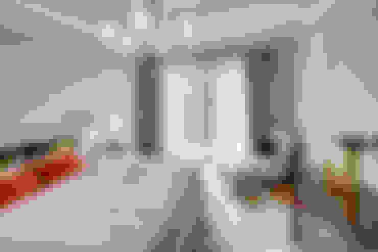 غرفة نوم تنفيذ KJUBiK Innenarchitektur