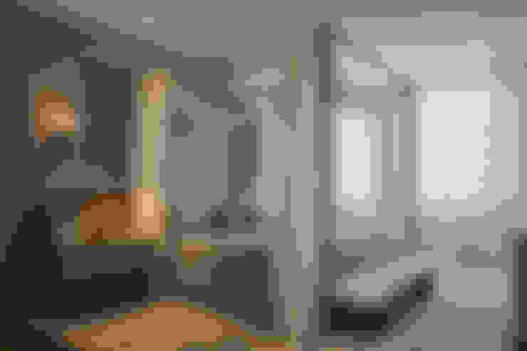 Dormitorios de estilo  por Denise Barretto Arquitetura