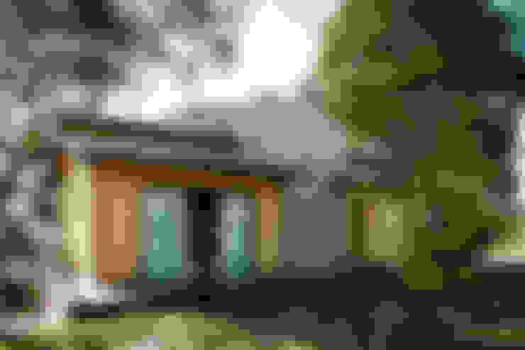Casas de estilo  por L2 Arquitetura