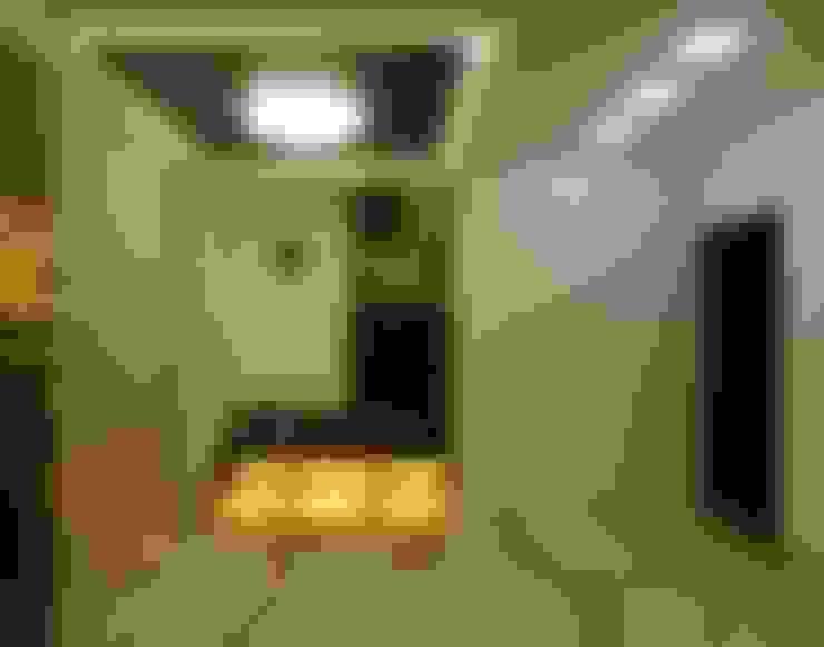Maddineni Residence:  Corridor & hallway by Freelance Designer