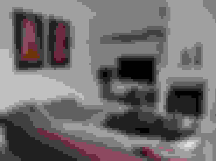 STİLART MOBİLYA DEKORASYON İMALAT.İNŞAAT TAAH. SAN.VE TİC.LTD.ŞTİ. – D.A Evi Kemerburgaz:  tarz Oturma Odası