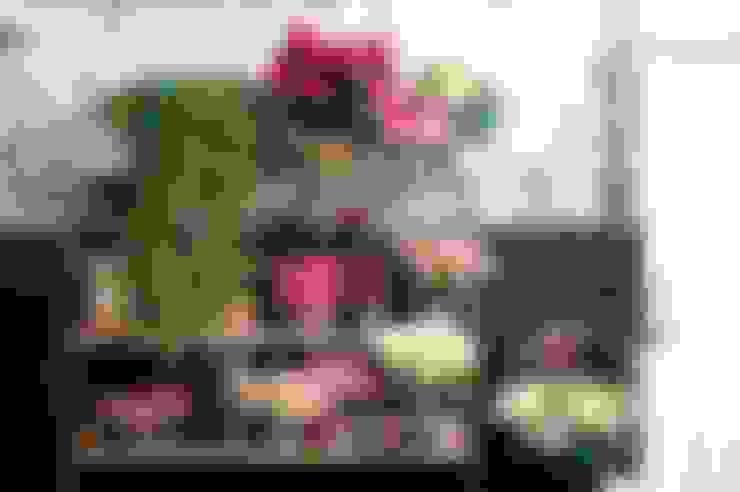 Salas/Recibidores de estilo  por Pflanzenfreude.de