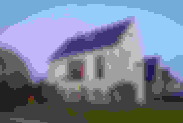 vrijstaand woonhuis particulier:  Huizen door JMW architecten