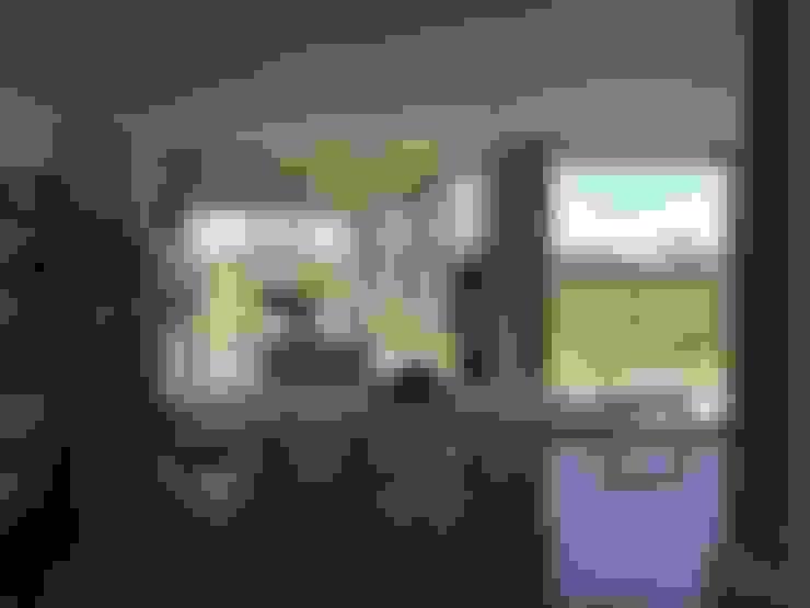 Casa Q: Comedores de estilo  por Felipe Gonzalez Arzac