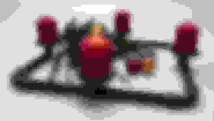 Weihnachten mal anders - im Industrial Design:  Wohnzimmer von ilTubo Wohnakzente