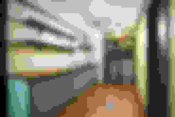 주방: 나무숨인테리어의  주방