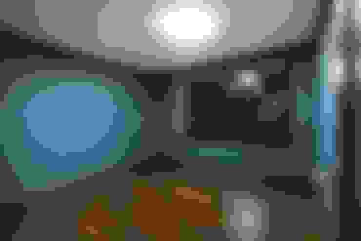 안방: 나무숨인테리어의  침실