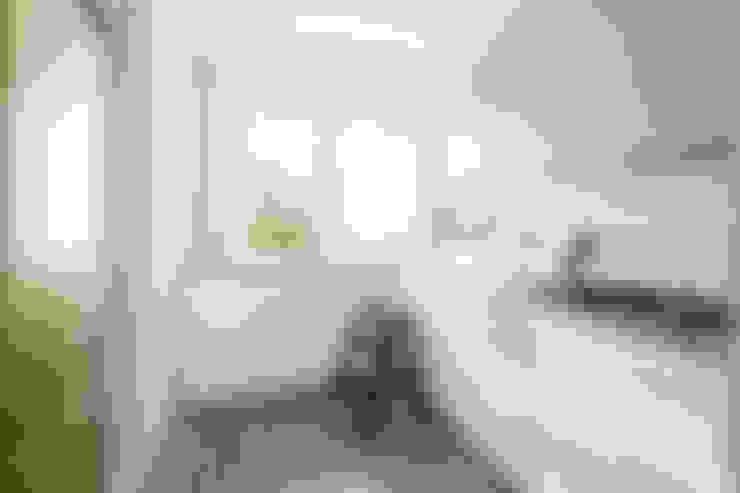 مطبخ تنفيذ Ayuko Studio