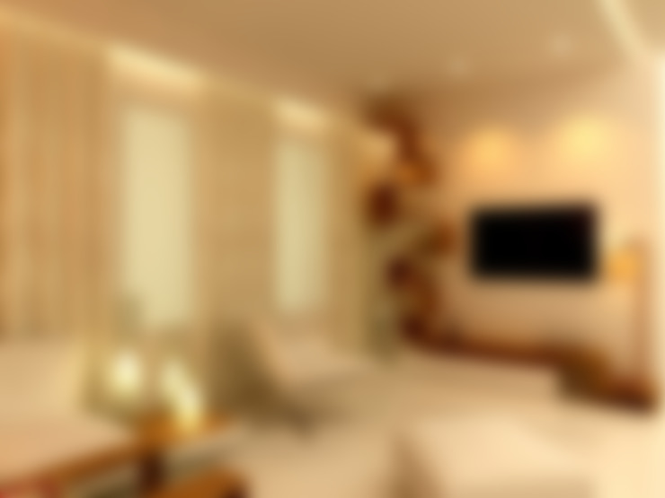 Residential project:  Living room by Kunal & Associates