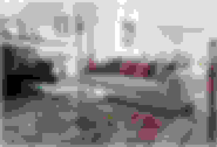 غرفة المعيشة تنفيذ Fragmentos Design