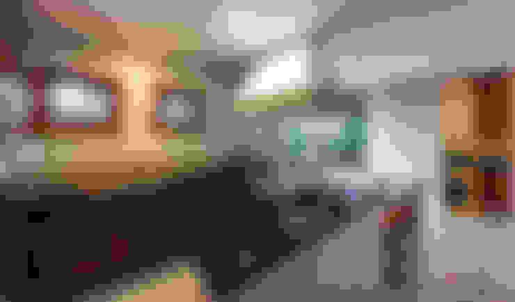 ห้องครัว by VNK Arquitetura e Interiores
