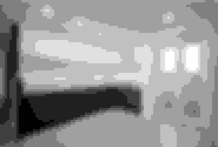 동탄아파트인테리어 반송동 시범다은마을 포스코더샵 33평 인테리어: 디자인스튜디오 레브의  주방